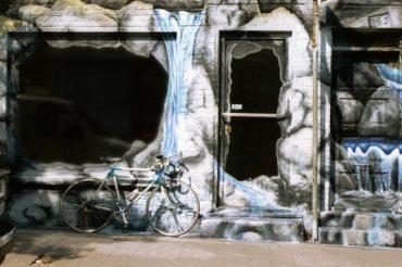 vélo glacé