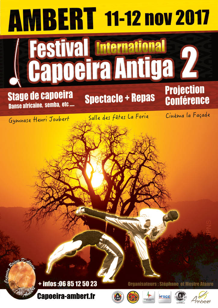 Affiche capoeira Ambert