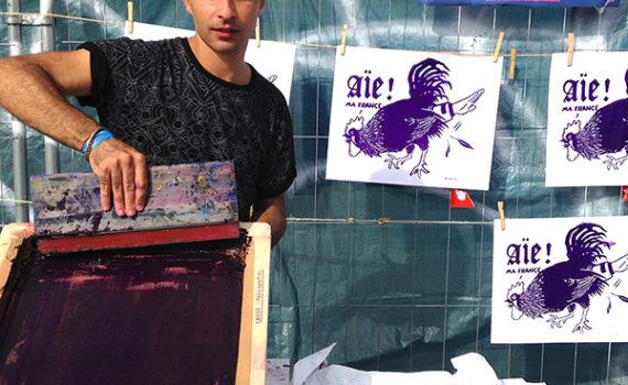Dugudus - illustrateur - sérigraphe